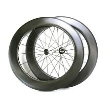 AEROTEC 88 Dimpled Carbon Road Bike Wheel Set 700c Clincher Shimano 10,11s