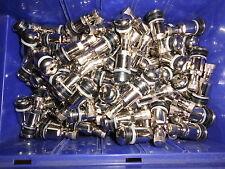 50 x Stahlventile 11,3mm Silber SW11 Metallventile Stahl PKW  Alufelgen 1