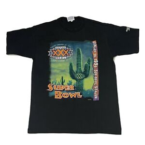 Vintage NFL SuperBowl XXX Cowboys Vs Steelers Reebok Shirt Large Aztec Southwest