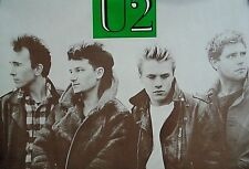 """U2 - Vintage Import 80's poster / Group / Exc. New Cond./ 23 x 35"""" / Last One"""
