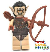 *NEW* LEGO Hunter Orc Minifigure  w/ bow weapon  HOBBIT LOTR 79002 79001 Minifig