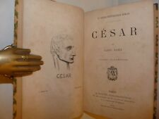 RAMEE, Daniel: CESAR 1870 Paris Maillet Legatura Ritratto Marchand GIULIO CESARE