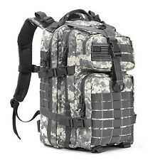 DIGITAL CAMO 34L Hiking Travel Military MOLLE Survival Day Bag TACTICAL BACKPACK