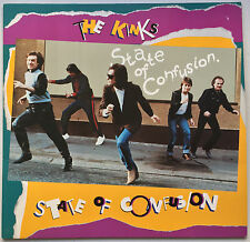 THE KINKS State of Confusion 1983 Arista (GERMANY) EX/EX