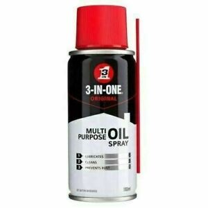 3-in-one 100ml 3-in-1 Multi-Purpose Oil Spray PTFE EASY TO USE SPRAY PTFE 100ml