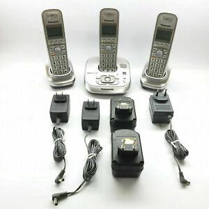 Panasonic 6.0 PLUS KX-TGA106 KX-TGA4021 PNLC1010 Digital Cordless Phone SET