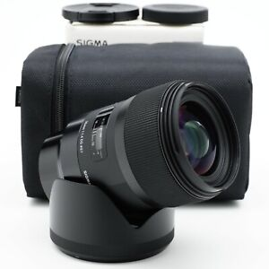 Sigma Art 35mm F/1.4 DG Sony E-Mount