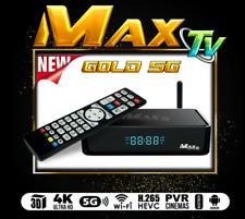MAXTV GOLD 5G 4K ULTRA-HD IPTV BOX+ANDROID 7.1 QUAD-CORE 64 BITS 2GB/ 8GB