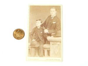 Antique Man + Son - MASONIC Frederick Cole Artist & Photographer London #CDV