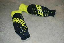 Leatt 3DF 5.0 Elbow Guard Lime/Black Junior MTB Mountain Cycling Used