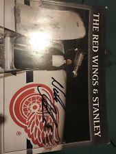 Nick Lidstrom Autographed Hockey Magazine