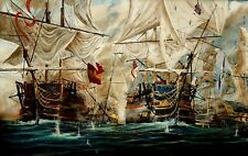 More details for limited edition print by alan adams 21st october 1805 nelson trafalgar