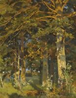 Forest Clearing Ivan Shishkin Wall Art Print on Canvas Giclee Repro Small 8x10