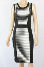 Women's Striped Polyester Wiggle/Pencil Knee-Length Dresses