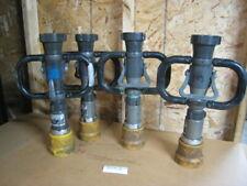 Fire Nozzle Elkhart Nh Select O Matic Tsm 30f Lot Of 4