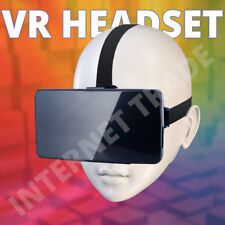 VIRTUAL REALITY 3D GLASSES VR GOGGLES BOX MOBILE HELMET TV PHONE MOVIE HEADSET