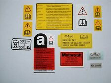 Ford Sierra Cosworth 3 portes Sous Capot Moteur/Engine Bay Decal Set