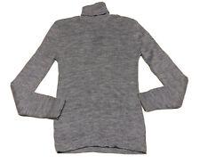 New listing 1960's Damon Turtle Men's Turtleneck Blue Sweater Medium Shrunk?