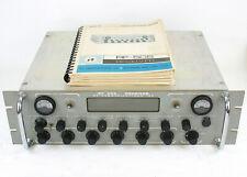 Vintage RF-505 Receiver (100 kHz - 30 MHz) AM,USB,LSB,ISB,CW w/ Orig Srvc Manual