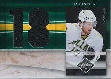 2010/11 Panini Limited #9 James Neal Jumbo Materials Jersey Numbers Insert
