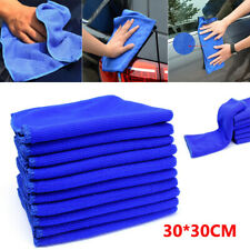 10Pcs Large Microfibre Cleaning Car Kitchen Detailing Soft Cloths Wash Towel