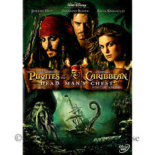 Pirates of the Caribbean 2 II Dead Man's Chest Davy Jones Pirate Movie on DVD