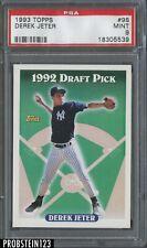 1993 Topps #98 Derek Jeter New York Yankees RC Rookie PSA 9 MINT