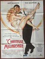 Poster The Singer And The Billionaire Marrying Man Kim Basinger 120x160cm