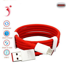 Fast Charge USB Sync Red Type C USB-C 3.1 Charger Cable 1M For OnePlus 5/3T/3