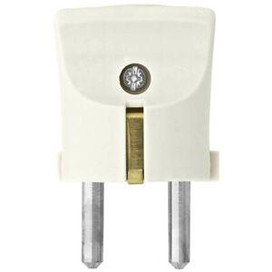 Schutzkontakt Stecker Schukostecker weiss bruchfest 250V 16A bis 3x1,5mm² Kopp