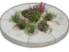 Stone Planter Garden Circle patio Round Large herb( Delivery Exceptions)
