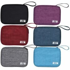 Travel Waterproof Electronics Storage Bag USB Charger Data Cable Organizer Case