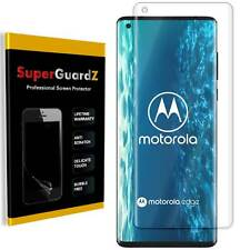 SuperGuardZ Clear FULL COVER Screen Protector Guard Shield For Motorola Edge