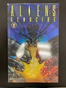 Aliens Genocide TPB Graphic Novel Dark Horse First Edition December 1992