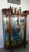 Antique VICTORIAN China & Curio Cabinet - Circa 1900 - Excellent Condition!