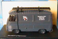 FOURGON PEUGEOT J7 TOLE RAMONEUR ELIGOR V4741 1/43 1:43 MODEL CAR DIE CAST