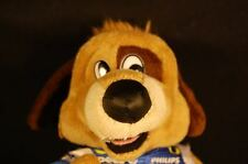 """Lucky Aarons Rents Puppy Dog Racing Suit Brown Blue Plush 10"""" Lovey Toy"""