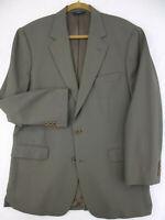 BROOKS BROTHERS 346 Stretch Gray Wool Sport Coat Blazer Suit Jacket Men's 41 Reg