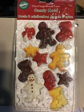 Wilton  Candy Mold Mini  Gingerbread Icons