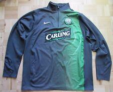 Sweat-shirt d'entraînement CELTIC GLASGOW /adulte veste NIKE 2007-2008 taille XL