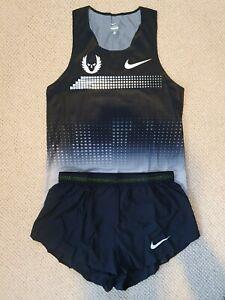 Nike Pro Elite 2013 Oregon Project Distance Running Singlet & Split Short Mens M