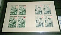"FRANCIA FRANCE 1966 ""CROCE ROSSA RED CROSS""LIBRETTO NUOVO MNH** BOOKLET (CAT.A)"