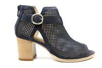 Nero Giardini E010256D Blu Calzature Sandali alla Caviglia Donna