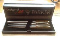 Parker 45pen,pencil,ballpen Set