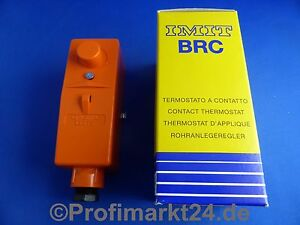 Anlegethermostat TCE-BRC/I innenliegende  Verstellung