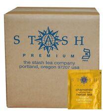 Stash Tea Chamomile Herbal Tea, 100 Count Box of Tea Bags in Foil, New