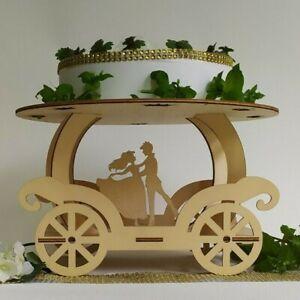 Carrozza Porta dolci sposi decorativa per cerimonie e casa