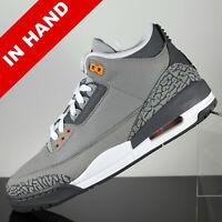 "2021 Air Jordan 3 Retro ""Cool Grey"" CT8532-012 Men's Shoes Sizes"