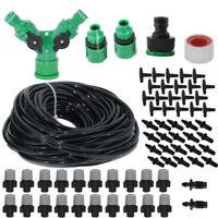 20M Water Misting Cooling System Mist Sprinkler Nozzle Outdoor Garden Tool Kit
