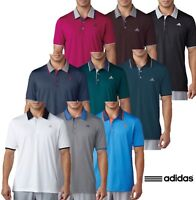Adidas Climacool Performance Logo Chest Golf Polo Shirt